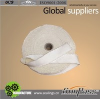 Elastic Modulus Heat Protection Satin Weave High Silica Coated Tape