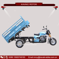 KAVAKI Motor 150CC/200CC/250CC Loading Tricycle Automatic Motorcycle Three Wheeler for Adult