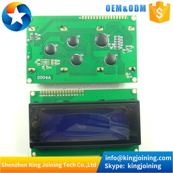 KJ187 20X4 5V Blue screen White character 2004 LCD display module for arduinos