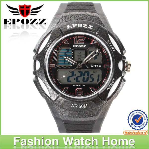 2013 new trendy colorful silicone quartz sports watch for men