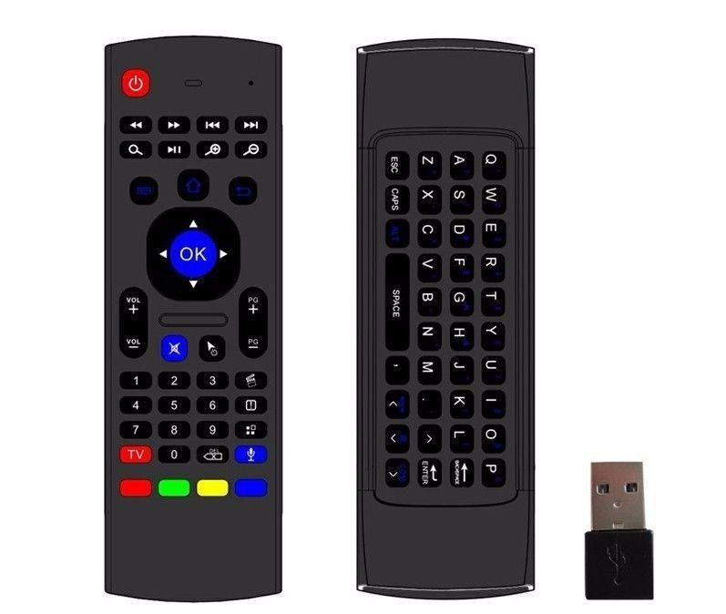 MX3 2.4G Mini Wireless Keyboard Fly Air Mouse IR Learning remote Control MX3 air mouse For Android Mini PC Smart TV Box