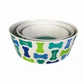 Wholesale Food Grade Anti-Slip High Quality Melamine Pet Bowl