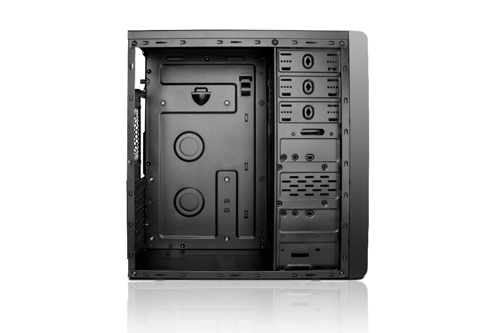 pc acrylic desktop computer case