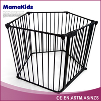 2016 New Large dog fences portable/metal pet enclosure/cheap pet play pen folding outdoor