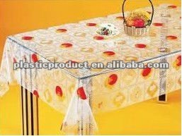 plastic table cloth/table cover