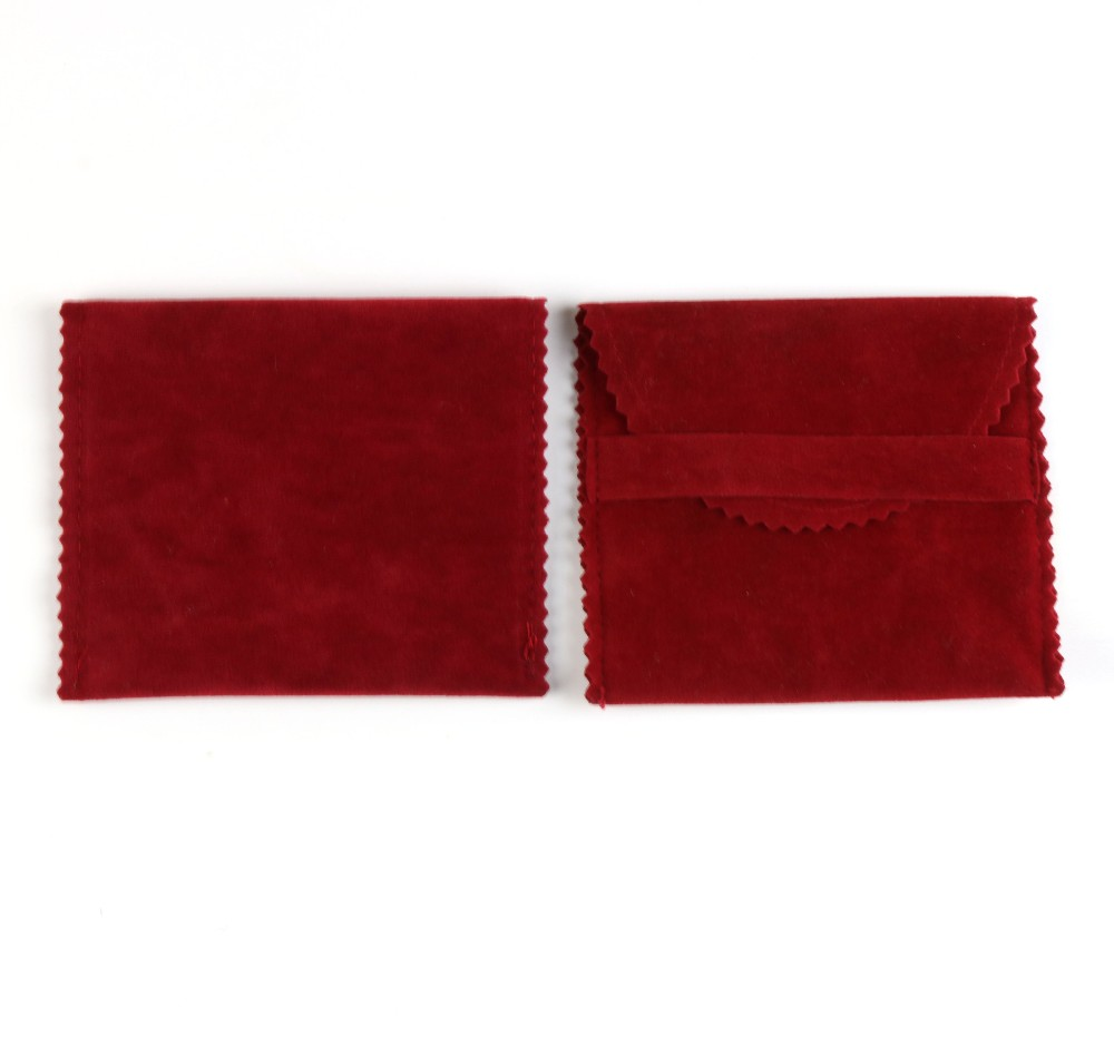 wholesale custom printed velvet pouch