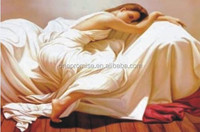 Nice room decor lenticular 3d picture of sleeping beauty girl
