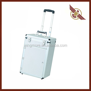Fashion Style Aluminum Suitcase WM-ACV028