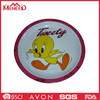 Yelllow Duck Personalized Round Melamine Dishes