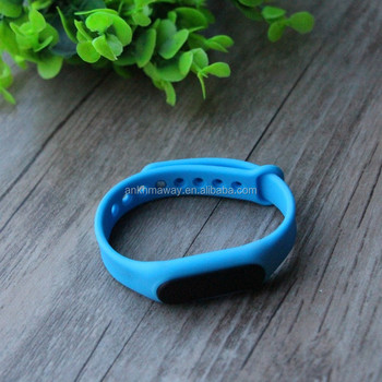 Low Energy Rechargeable Bluetooth Ble Sticker Eddystone iBeacon Wristband