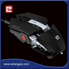 Professional Gamer PC Gaming remote Mouse Wired With Colorful LED Light