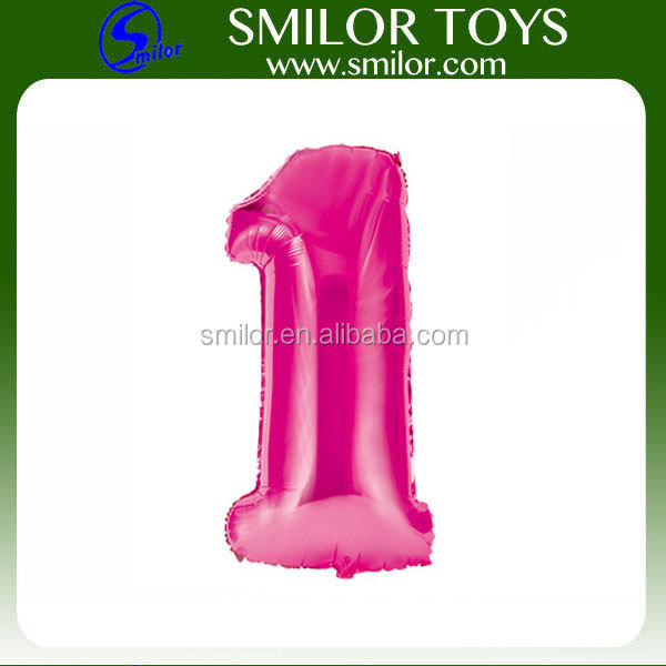 "Wholesale Custom 18"" or 32"" or 42"" Number Birthday Helium Balloon"