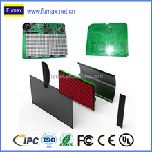 led dot matrix display control board turnkey assembly with aluminum enclosure