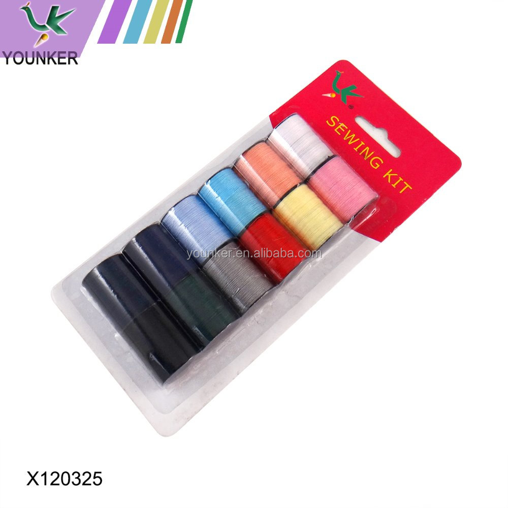 Wholesale Different Size and Colour 100% Polyester Sewing Thread