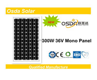high quality solar panel 300 watt with IEC CE PC TUV CEC ISO certificate