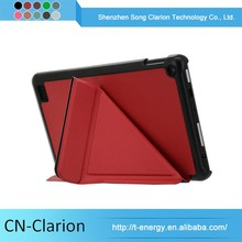 New Popular Smart Cover 7 85 Inch Tablet Case Tablet Pc Case for fire 7 origami case