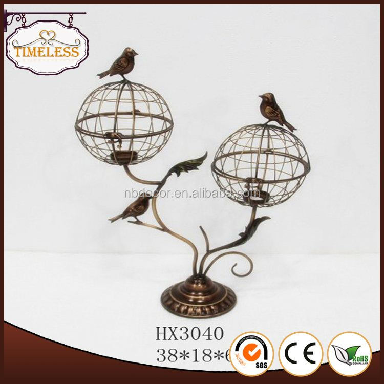 Professional manufacture factory directly antique hanging bird cages