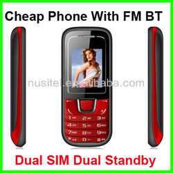 Cheap 2 Sim GSM Phone Support OEM / ODM Service