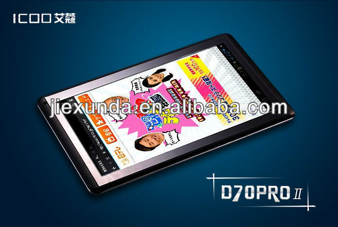 NEW 7 inch ICOO D70PRO II Tablet PC Andriod 4.1 RK3066 Dual Core 1.6GHz 1GB DDR3 8GB HDD Capacitive Wifi HDMI