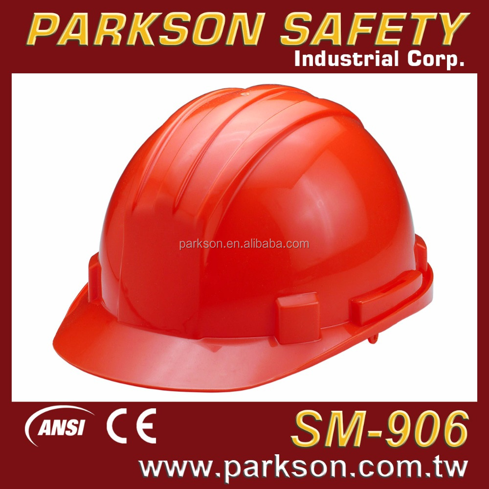 PARKSON SAFETY Taiwan Economic Adjustable lightweight Construction Working Safety Helmet CE EN397 ANSI Z89.1 SM-906