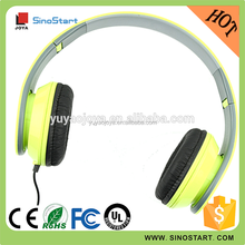 Cheap price fashion design oem brand custom name headphone with adjustable headband for gifts