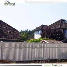 Customzied UV proof high plastic/wooden garden fence factory