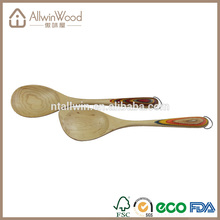 wooden spoon cooking utensils with certificate