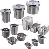 Stainless Steel Pot and Pan table-top electric bain marie cooking equipment