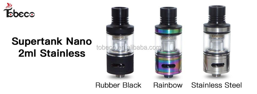 Tobeco authentic new product supertank mini nano 2ml