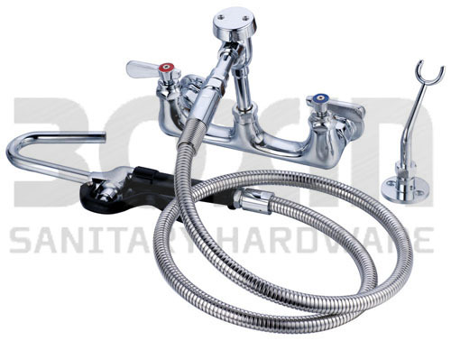 Commercial Faucet + Ulility Spray Faucet