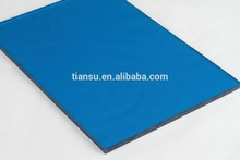 PC high tech/ Solid Sheet Size 0.8-17.8mm UV-Protection/ Greenhouse roofing tile/ highway sound insulation raw materials
