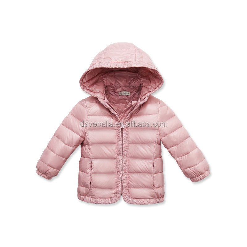 Down coat for baby girl