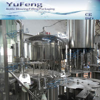 3 in 1 computerized mineral water filling packing machine of water production line