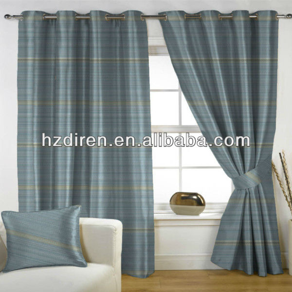 100% polyester fashion export orders curtain/curtain fabric