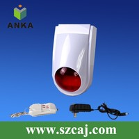 Cheaper 20 Zones Wireless Burglar Alarm System With 110db Stobe Siren