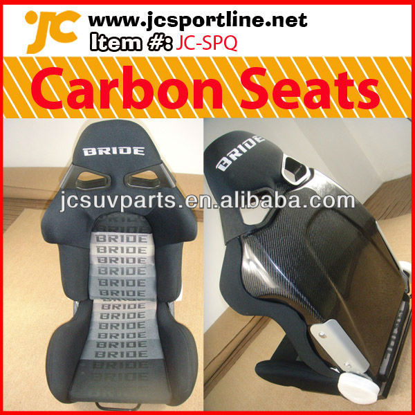 For Bride Carbon Fiber Auto Racing Seats from JC sportline