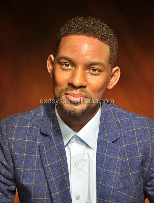 Will Smith Lifelike Full Size Silicone Wax Figure