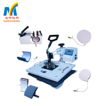 Wholesale Cheap Digital Heat Transfer Press 8 In 1, Combo Heat Press Machine