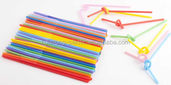 Flexional/folded PP drinking straw at low price