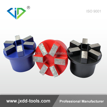 "Grinding Plug 2"" to 4"" Diamond and PCD Segment for Concrete, Coating, Glues and Epoxy"