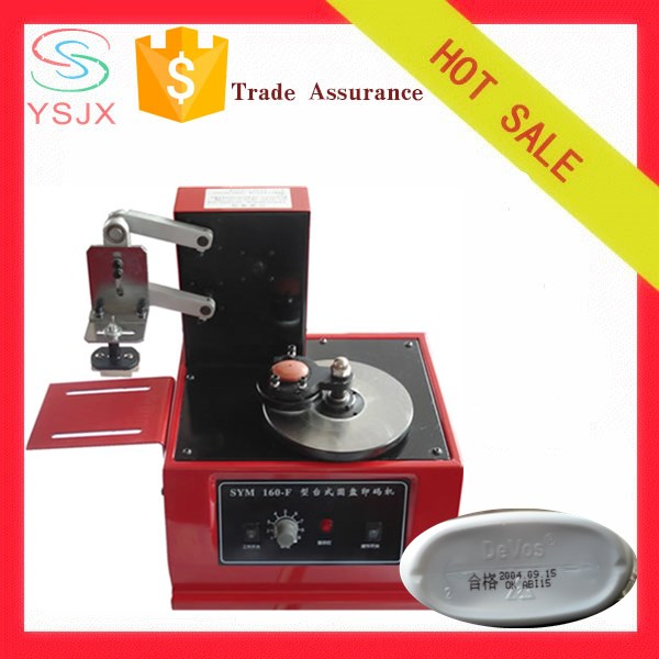 Best sale ink printing glass bottles machine for expiry date