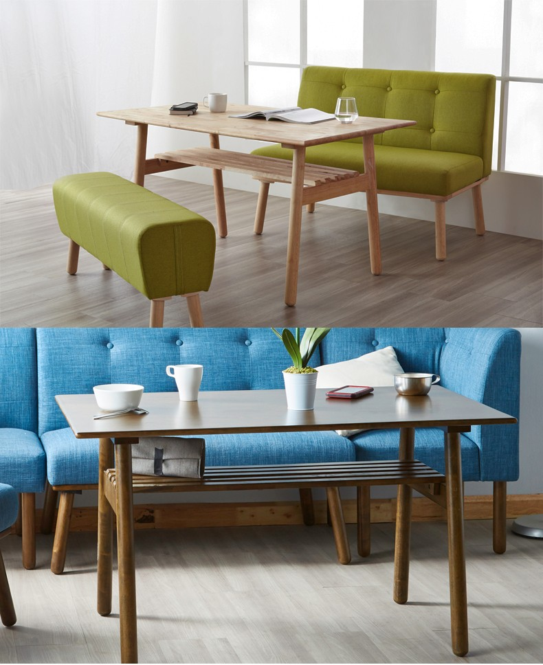 Sectional Modern Nature Rectangular Dining Table And 6 Chairs Buy Rectangul