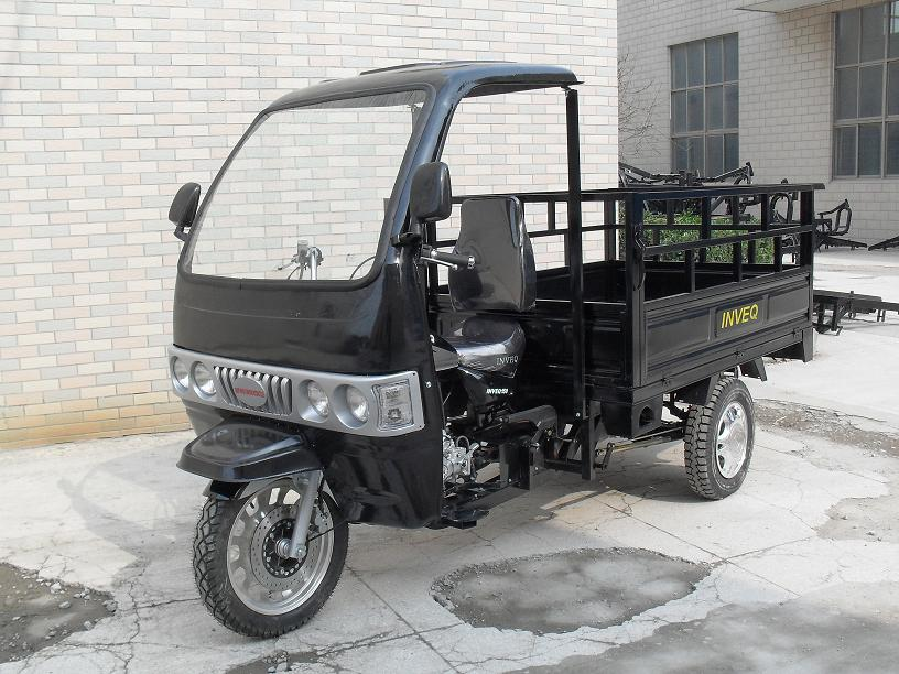 Cargo Gasoline Tricycle with Cabin for Sales 125cc 150cc 200cc 250cc