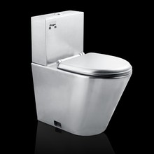 Durable Stainless Steel Commercial Toilets And Urinals Pop Women's Toilet Bowl Most Hot High Quality Toilets