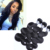 18 inches virgin peruvian remy wet and wavy human hair bundles wholesale