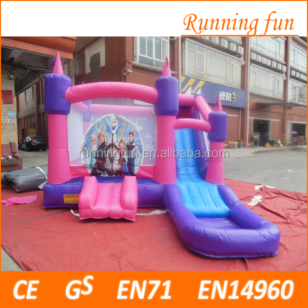 china low price high quality huge slide inflatables Banzai Vortex Water Slide