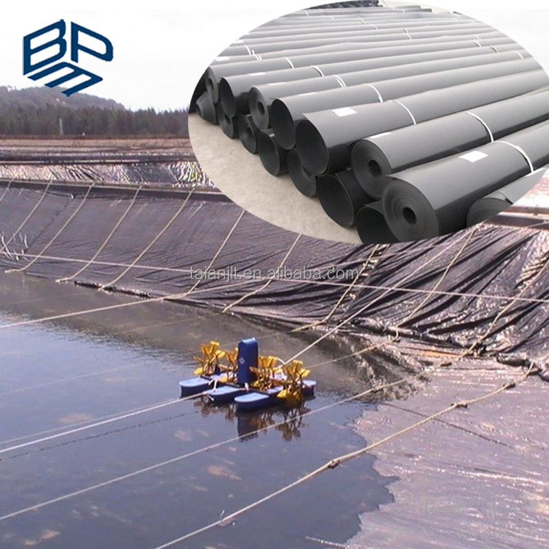 Fish Farm Pond HDPE Plastic Geomembrane Liners