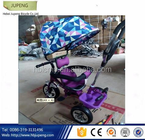 three wheel children tricycle, kids push trike for baby products 3 in 1 in China