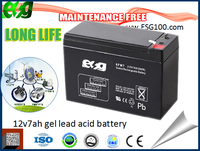 HIGH RATE battery 12v 7 ah ups battery ups battery for pakistan market storage battery
