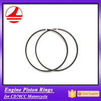 Factory Wholesale Quality engine spare parts cd70 motorcycle piston ring